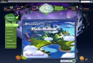 pixie hollow PixieHollow.Com