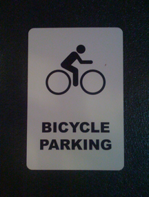 Bicycle Parking Daily Marauder